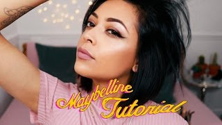 DRUGSTORE MAKEUP LOOK FT. MAYBELLINE | GIGI HADID INSPIRED | ad | itslinamar