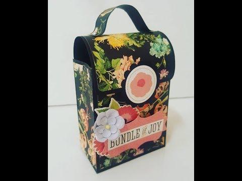 DIY:How to:Paper bag purse tutorial