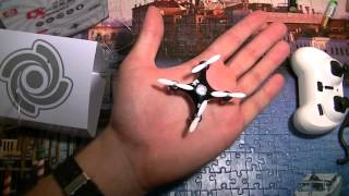 Розпакування квадрокоптер Cheerson CX 10A (відмінна іграшка для будинку і вулиці)