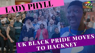 Lady Phyll talks UK Black Pride at Hackney Town Hall Takeover