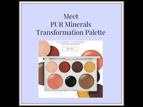 PUR Minerals Transformation Palette GRWM for the American Film Market