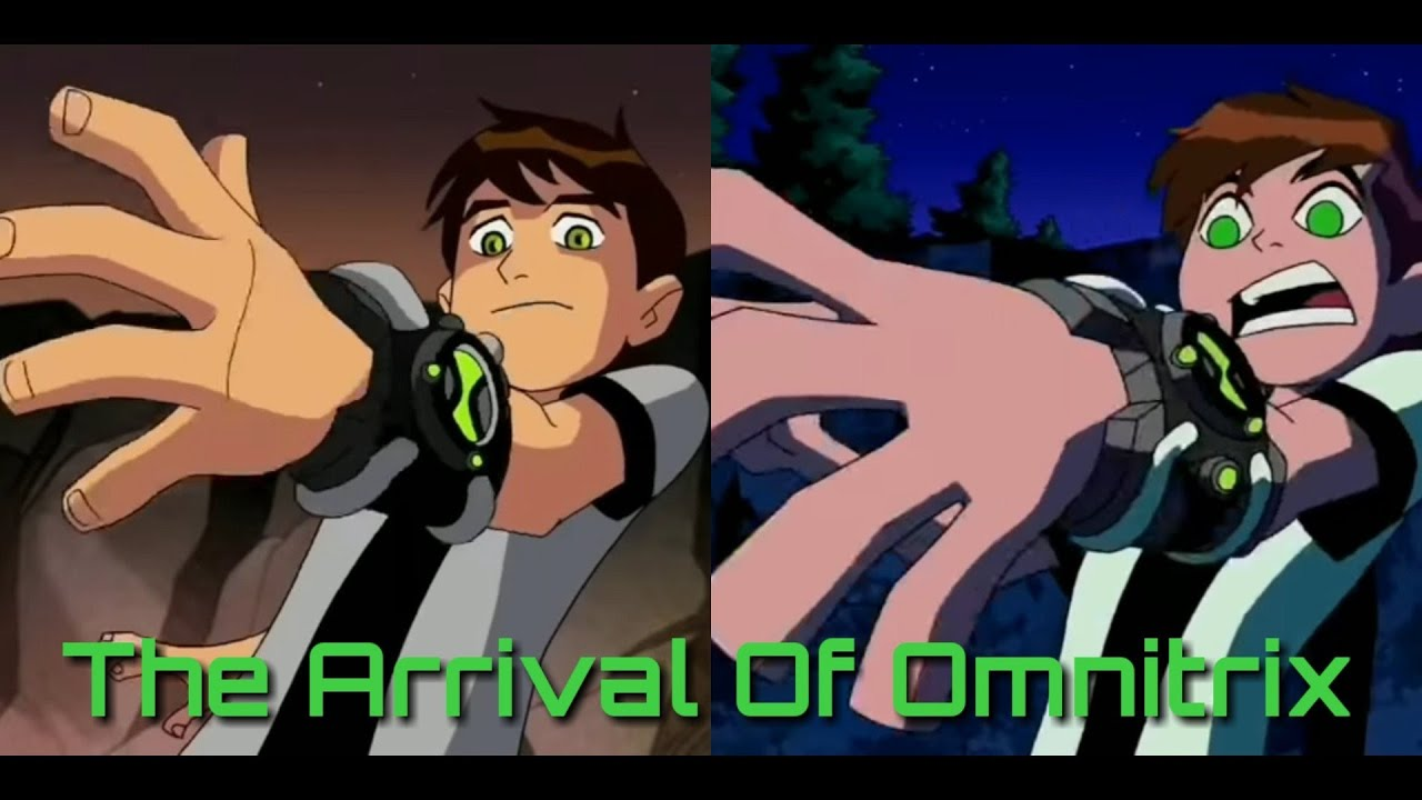 Download Arrival of the Omnitrix +  first Transformation (Ben 10 classic and Ben10 Omniverse )