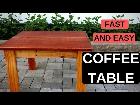 Fast & easy coffee table | Easy DIY | Wood Project