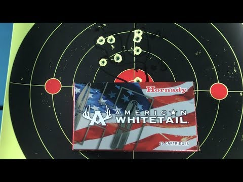 Hornady American Whitetail - 6.5 Creedmoor - Sub MOA