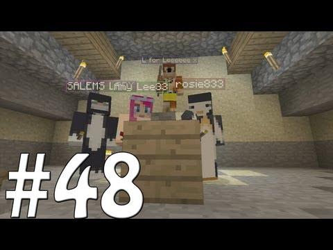 Minecraft Xbox - Sky Island Challenge - Karaoke Bar!! [48]