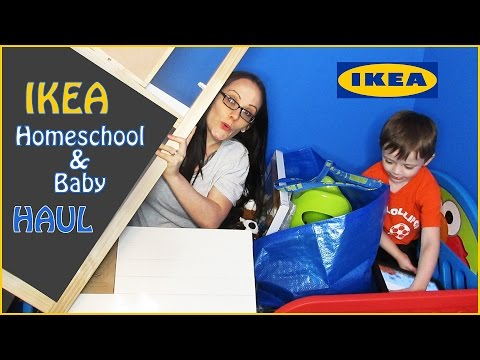 IKEA Homeschool & Baby Haul - Stuff For Our Pinterest Inspired Homeschooling Room & Giveaway Winner