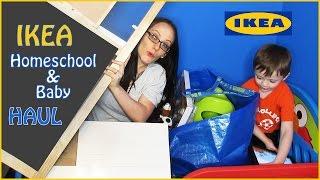 IKEA Homeschool & Baby Haul - Stuff For Our Pinterest Inspired Homeschooling Room & Giveaway Winner