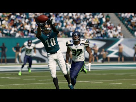 NFL Today 11/24 - Philadelphia Eagles vs Seattle Seahawks Full Game | NFL Week 12 (Madden)