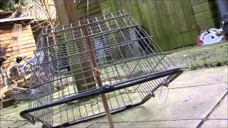 Survival traps : split stick  deadfall cage trap