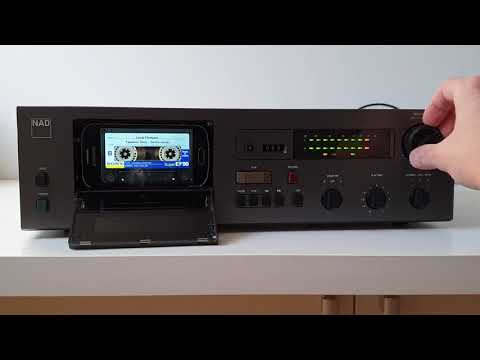 NAD 6325 As MP3/FLAC Player - Tapeless Deck Project