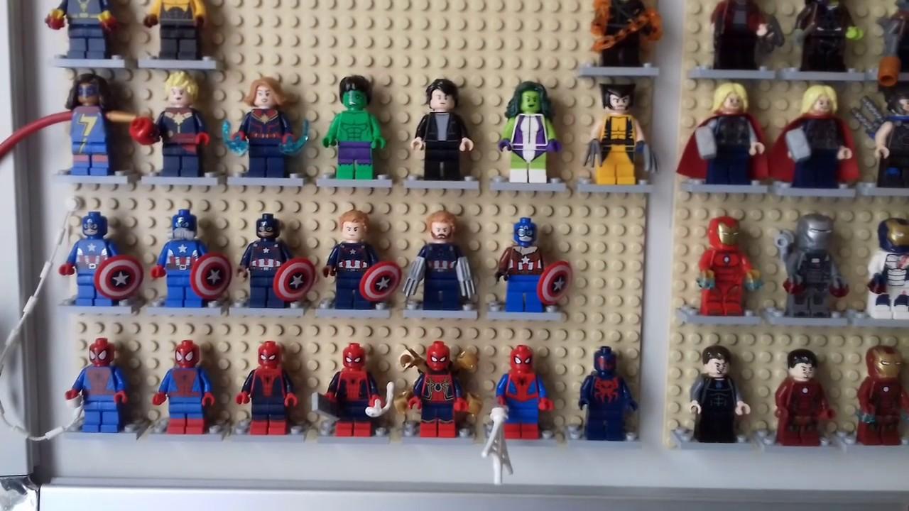 RARE Lego Marvel Super Heroes Spider-Man Mysterio Minifigure HOT