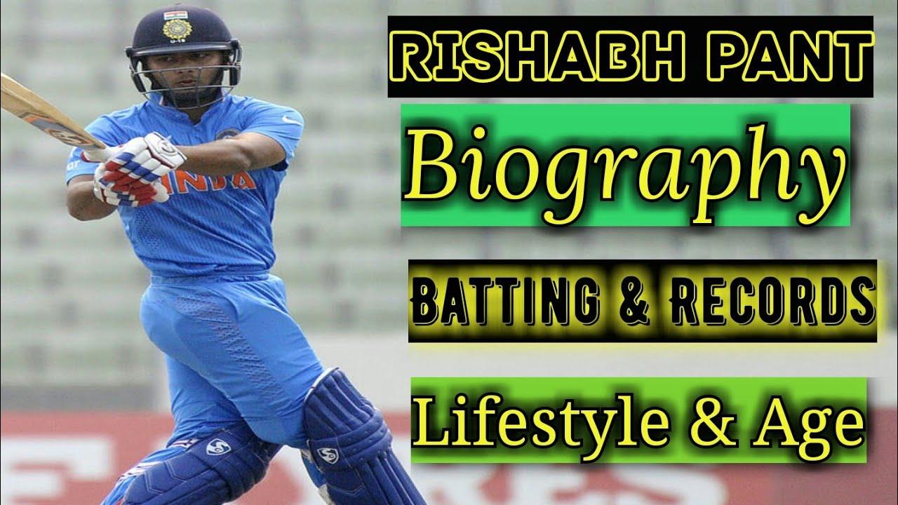 Rishabh Pant biography | Rishabh pant batting and cricket Career | Rishabh Pant lifestyle and Age
