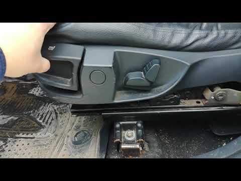 Сиденья от БМВ в автомобиль Лада Ларгус