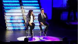 Donny & Marie Performing Deep Purple - Morning Side Of The Mountain - It