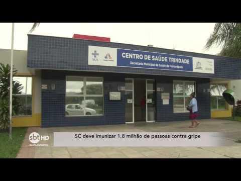 Santa Catarina deve imunizar 1,8 milhão de pessoas contra gripe