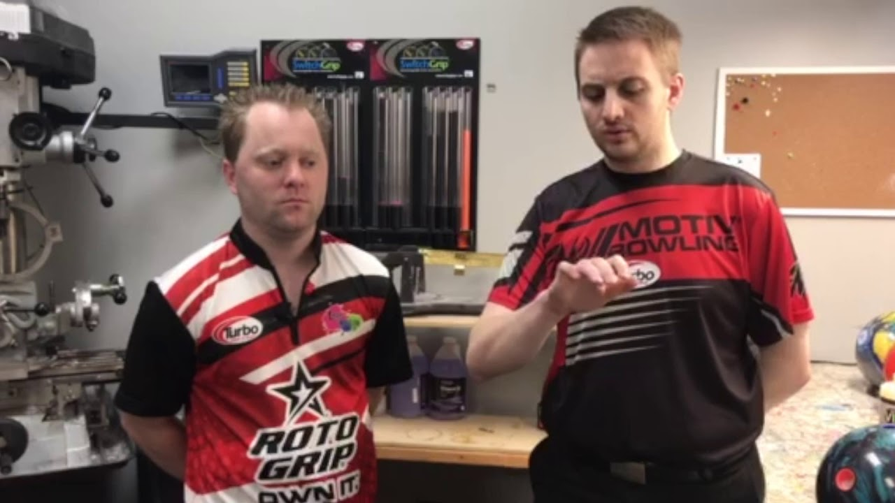 PBA Bowler Richard Teece Fit Changes