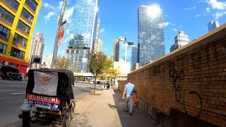 ⁴ᴷ⁶⁰ Walking NYC: 10th Avenue, Manhattan from Chelsea to Hell's Kitchen and Columbus Circle