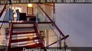 Villa Bora Bora Guadeloupe, le luxe au bord du lagon de Saint François