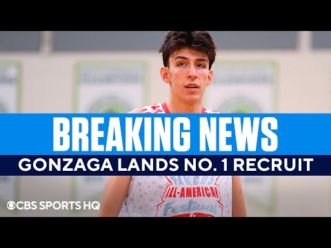 No. 1 Recruit in the Nation, Chet Holmgren, Commits to Gonzaga  CBS Sports HQ