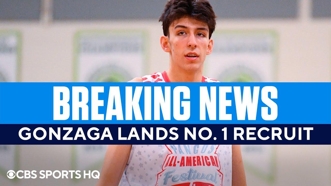 No. 1 hoops recruit Chet Holmgren commits to Gonzaga