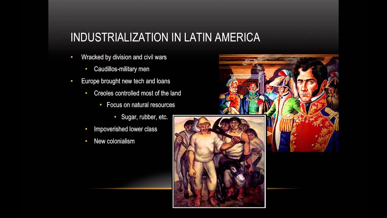russia and latin americas responses to industrialization Industrialisation is where a country moves from an economy dominated by agricultural this was the position adopted by russia in the 1920s and 30s, china in the 1960s the last half century has witnessed much of asia and latin america industrialise because.
