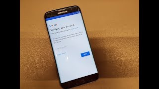 BOOM!!!Samsung S7 Edge SM-G935F Android 8 Binary 2.Remove Google Account Bypass FRP.Without box.