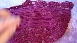 Как вязать Узор Ракушки / How to crochet pattern Shell