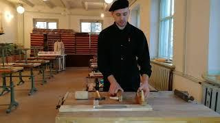 Урок технологии в 5 классе. Строгание заготовок из древесины