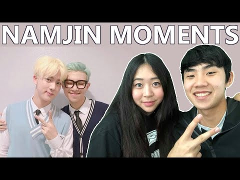Couple Reacts To: BTS Namjin Moments Reaction