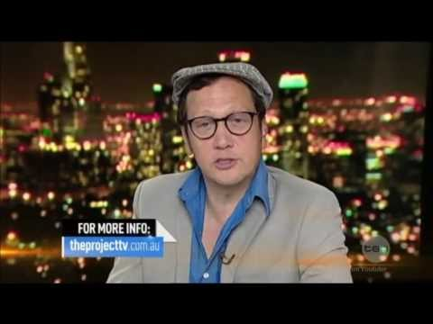 ROB SCHNEIDER - Australian Tv Interview 20-8-2013