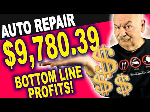 Auto Repair Shop Management – $9,780.39 in 120 Days – Bottom Line Profits