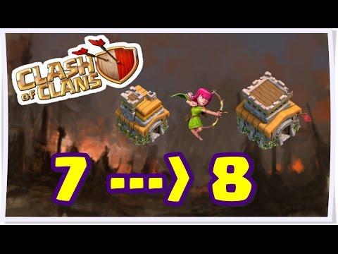 Clash of Clans - 8. Seviye KB'na Geçildiğinde İlk Yapılacaklar