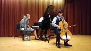 Borodin - Sonata for Cello and Piano in B minor   Ian Chen, cello   Emily Katynski, piano