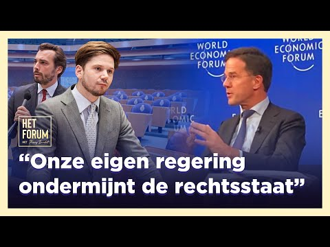 Onze eigen regering ondermijnt de rechtsstaat. Gideon van Meijeren in HET FORUM!
