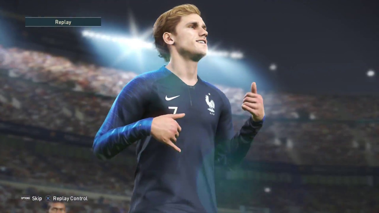 France Vs Argentina Amazing Pes 2019 Match On The Ps4 Pro