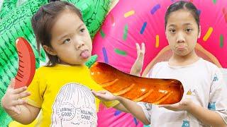 Em Út Chành Choẹ ❤ Chị Em Phải Nhường Nhịn Nhau - Trang Vlog
