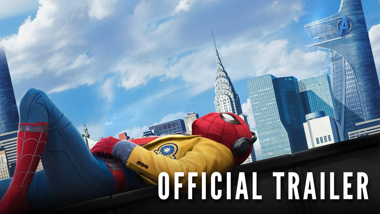 SpiderMan Homecoming  Official Trailer  Hd  Youtube