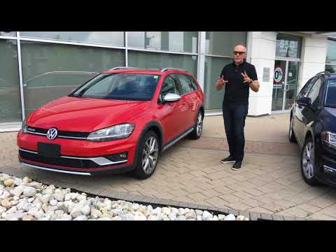 Volkswagen Golf SportWagen vs. Golf Alltrack