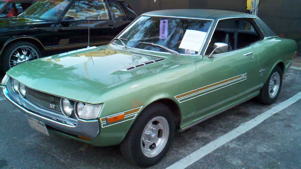 Corolla For Sale >> 1972 Toyota Celica (Spotting for Wasabi Cars) - YouTube
