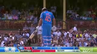 Rohit Centuries Against Australia. Rohit With Dhoni || Best Partnership