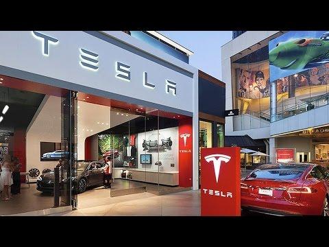 Tesla Shares Slide on Lease Credit Line from Deutsche Bank