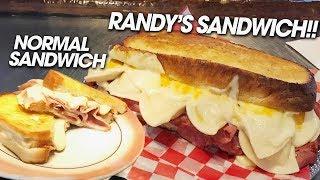 Ultimate Grilled Cheese Sandwich Challenge w/ Kielbasy & Pierogies!!