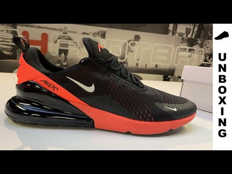 Heel bubble so HUGE and RESPONSIVE || Nike Air Max 270 'Hot