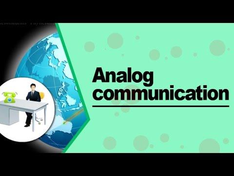Analog Communication Type Of Signal For Communication Youtube