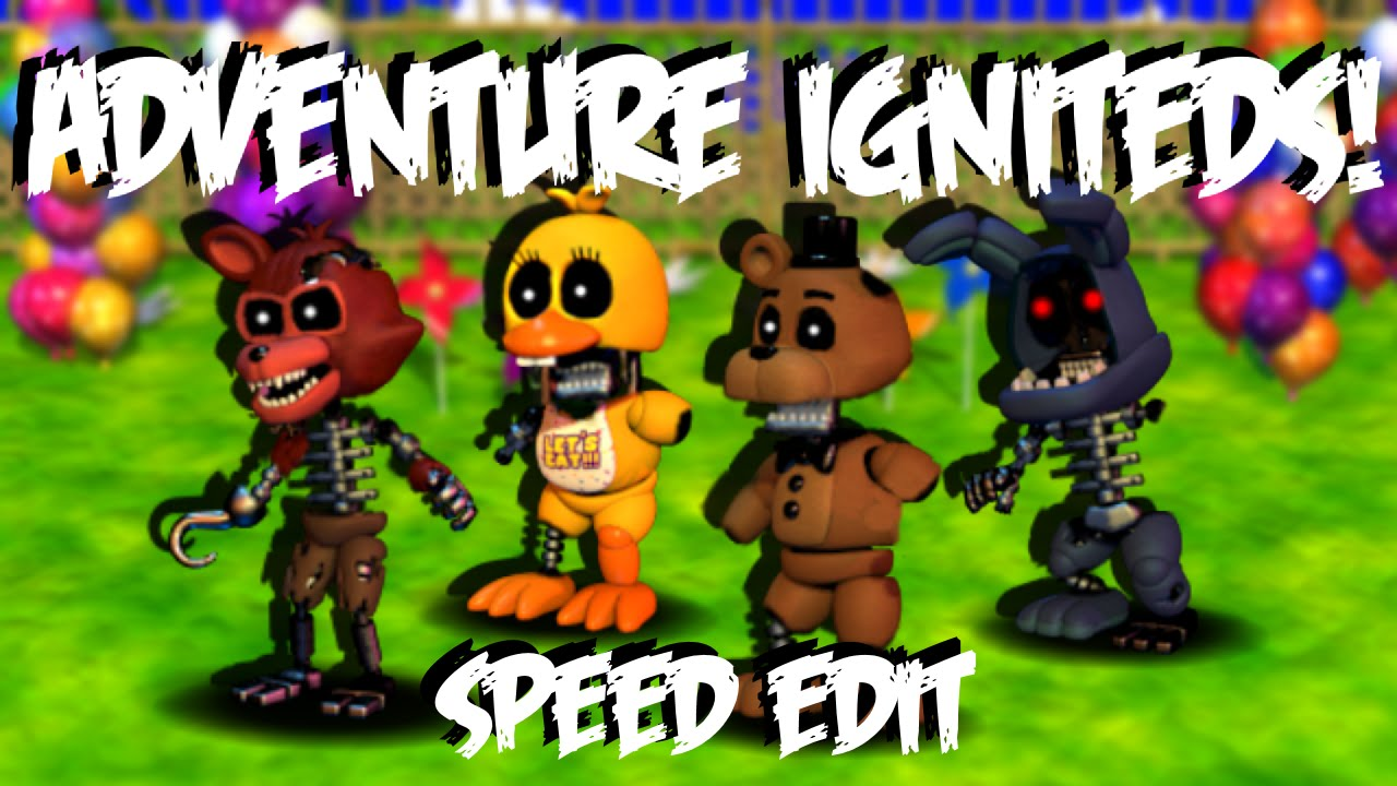 Adventure Ignited Animatronics Speed Edit Youtube
