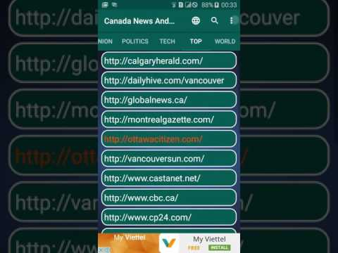 Canada News And More: Read all major Canada online Newspapers in one app