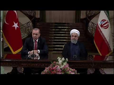 Erdoğan Ruhani'yle Görüştü: Gündem Kuzey Irak'tı