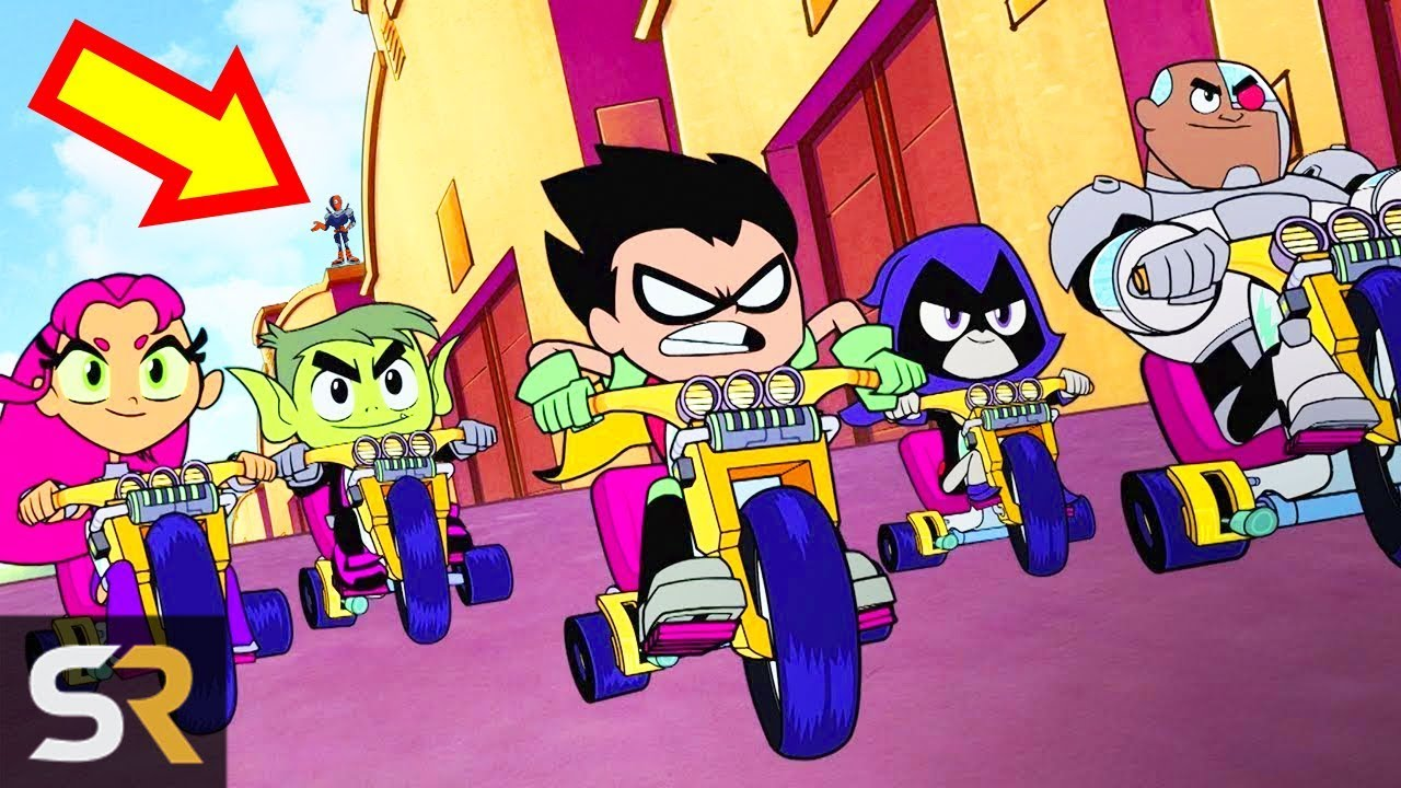 25 Hidden Secrets In Teen Titans Go To The Movies - Youtube-7773