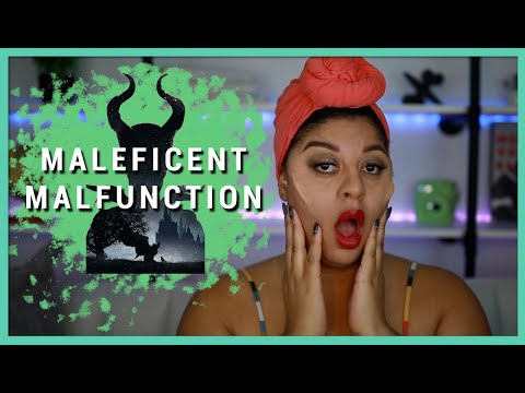 I Tried to Follow Chrisspy's Maleficent Tutorial | Halloween Makeup Tutorial | Makeup for Beginners thumbnail