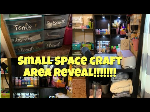 CRAFT ORGANIZATION | SMALL SPACE CRAFT AREA REVEAL